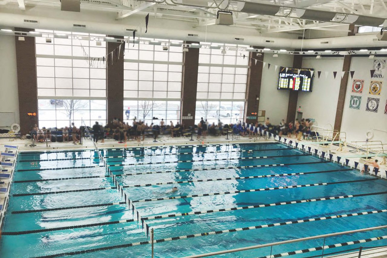 Glenbrook South HS Pool, Glenview IL
